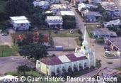 Aerial view of Saint Joseph's Catholic Church